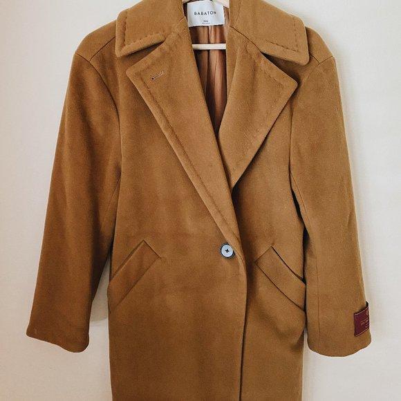 Aritzia Babaton 100% Virgin Wool Coat (Lined)